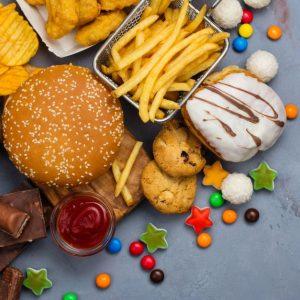 Alimentos vacíos sin nutrientes