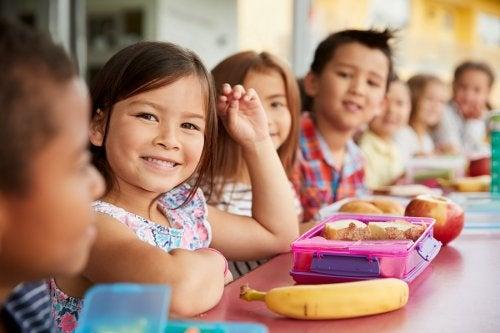 Merienda rica y saludable para el colegio de los niños