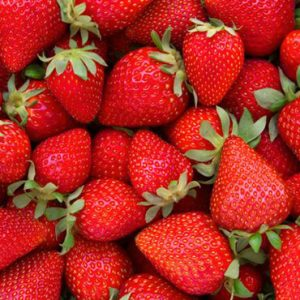 La fresa en versión medicinal
