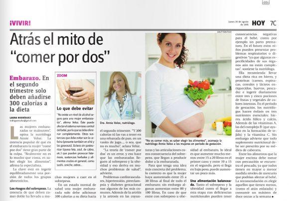Periodico El Hoy 24 Agosto 2015