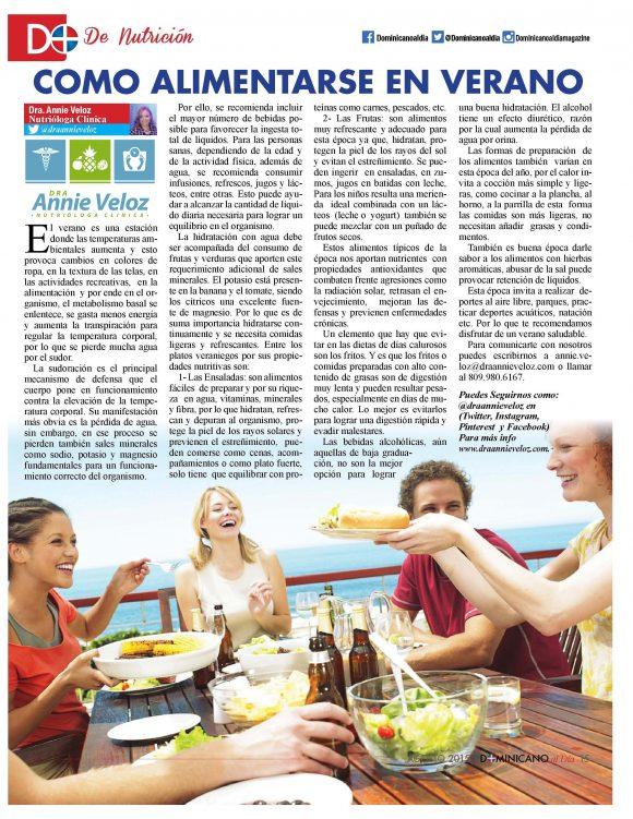 Dominicano al dia Magazine NY  agosto 2015