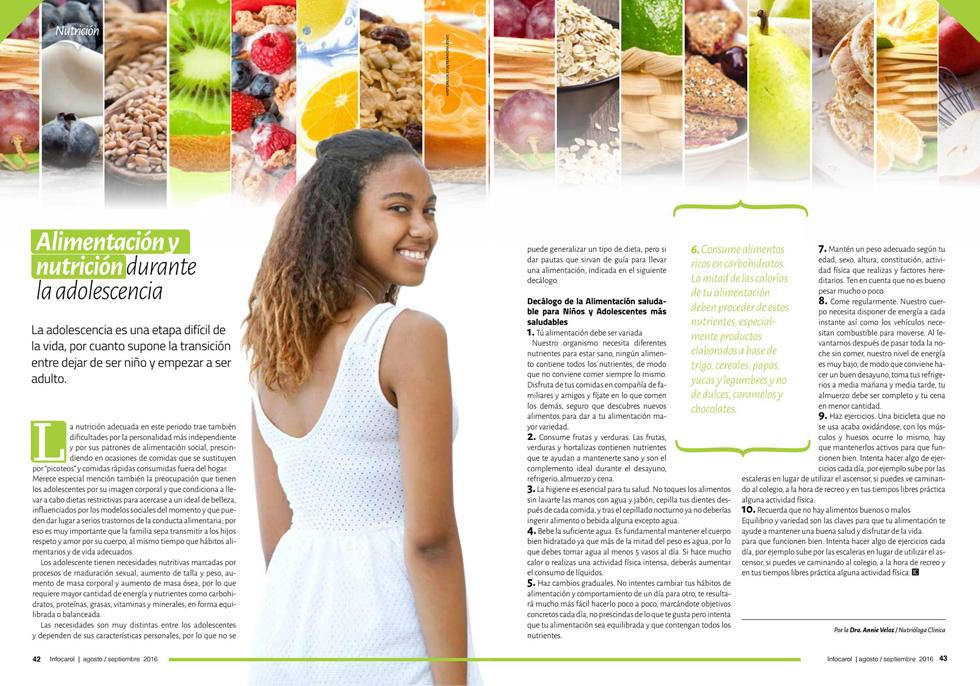 Revista InfoCarol Agosto/septiembre 2016