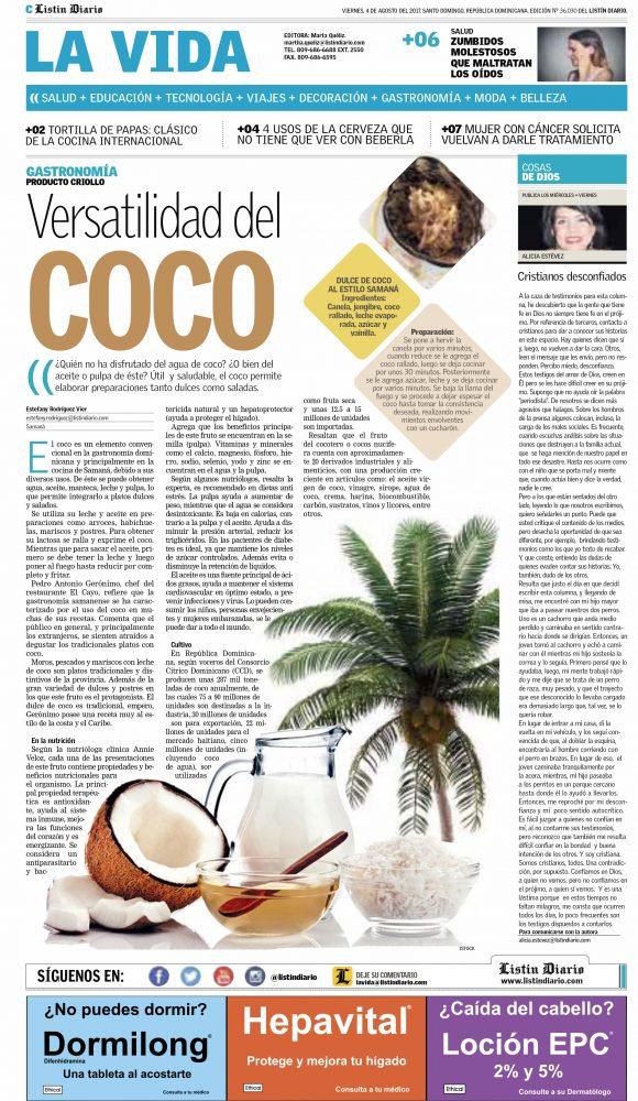 Listin Diario 4 agosto 2017